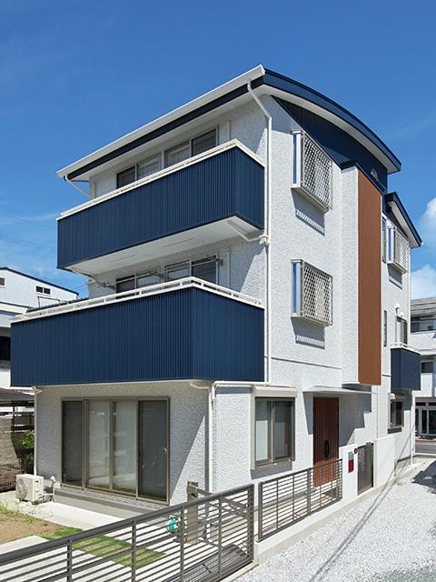 三階建ての家